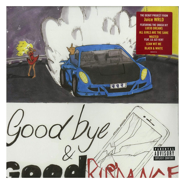 "Juice WRLD Goodbye /& Good Riddance Art Poster HD Print Wall Decor 22x22/"""