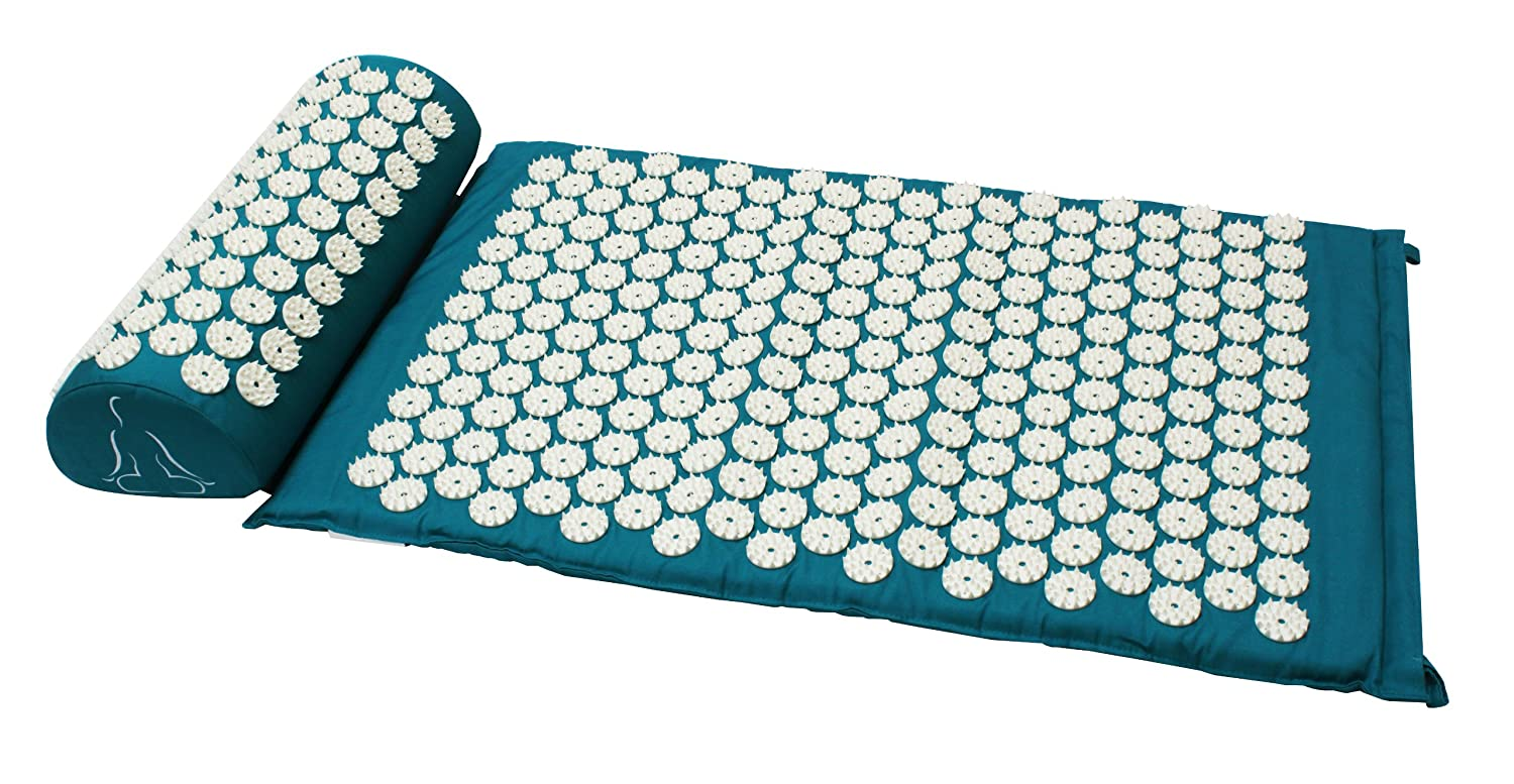 kenko acupressure acutens ruby exercise acupuncture with mat pillow ig mats p