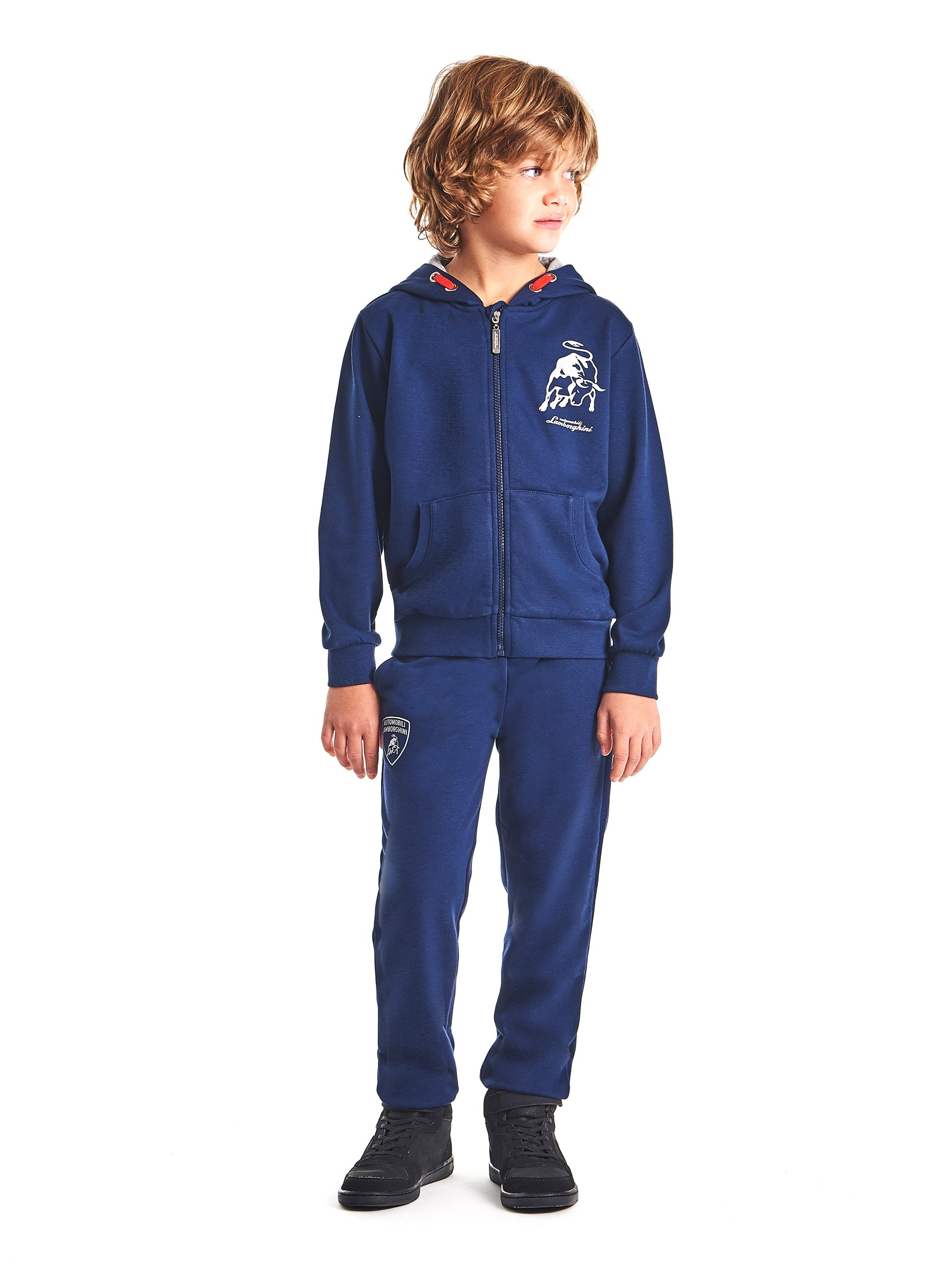 Automobili Lamborghini Children Lamborghini Bull Tracksuit For Kids 12 Years Blue