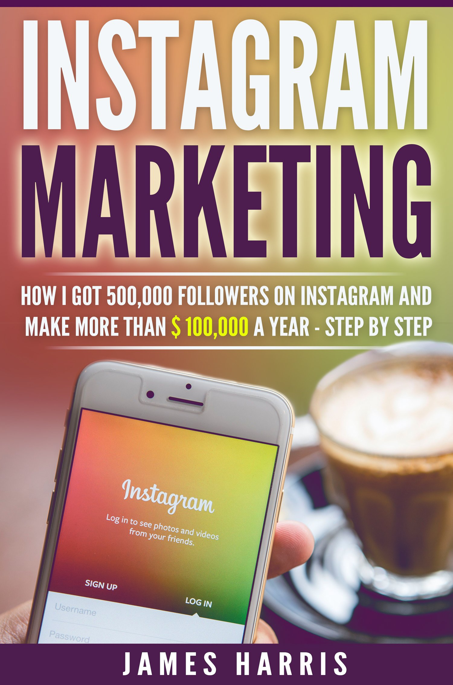 Instagram Marketing  How I Got 500000 Followers On Instagram And Make More Than $ 100000 A Year   Step By Step  English Edition