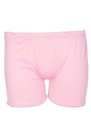da6a1df6cca3 Amazon.com  Noroze Girls Stretch Shiny Shorts Dance Gym Hot Pants ...