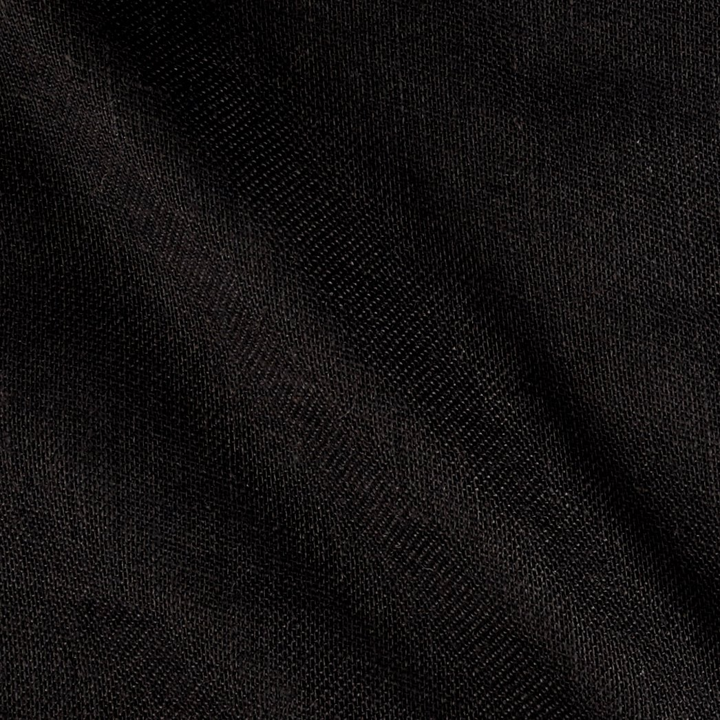 James Thompson Shalimar Burlap Black (Bolt 15 Yard) Fabric,