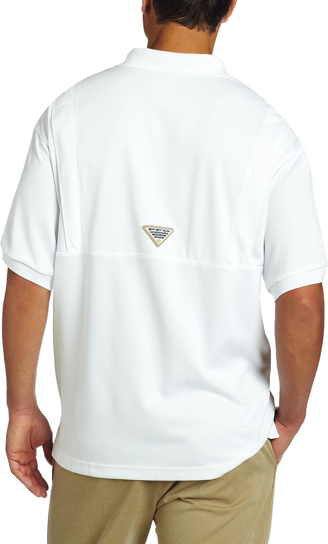 UV Protection Breathable Columbia Mens PFG Perfect Cast Polo Shirt