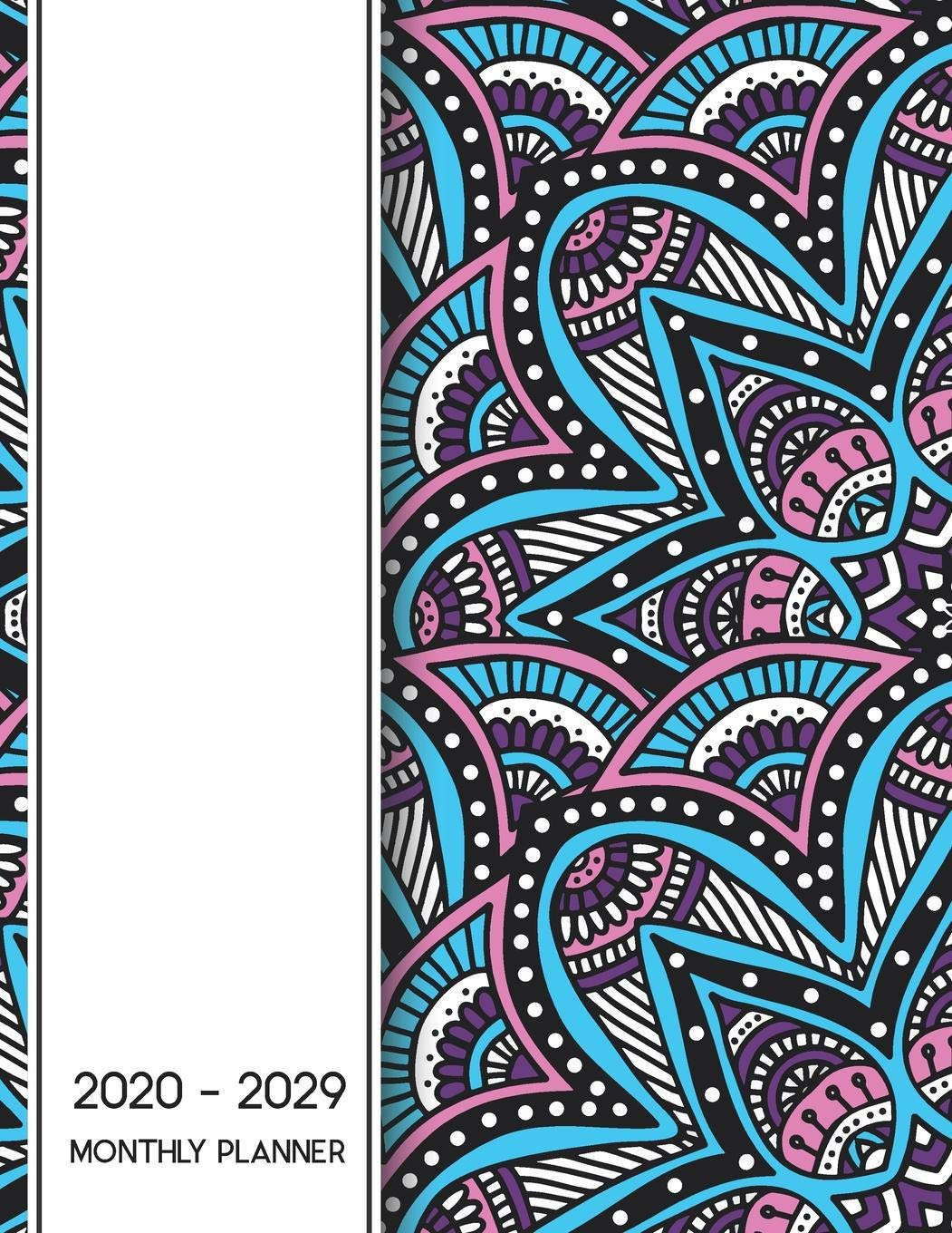 Amazon.com: 2020 - 2029 Monthly Planner: 10 Year Planner ...