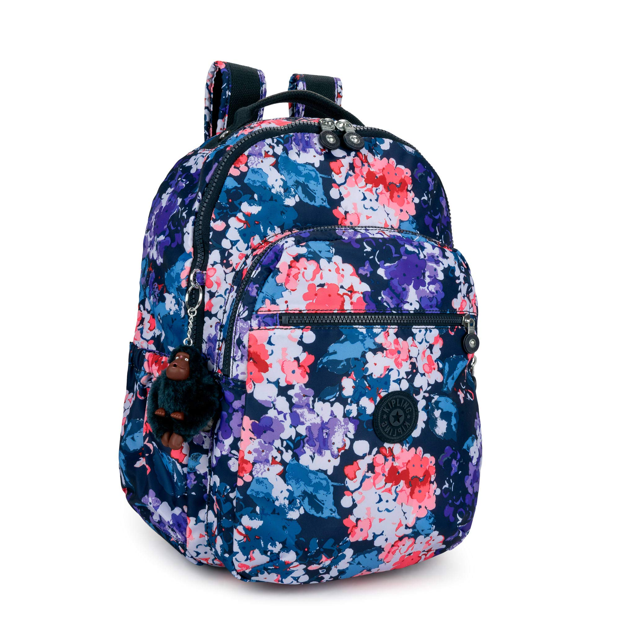 Kipling Seoul Go Large Printed Laptop 15'' Backpack One Size Blushing Blooms by Kipling (Image #2)