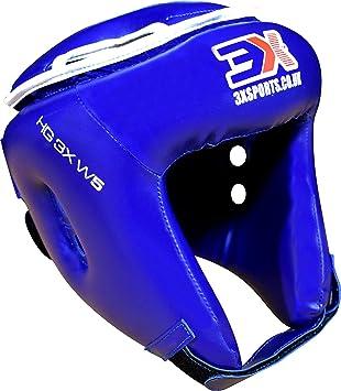 Casco Completo PROFESSIONAL CHOICE 3X Proteger la Cabeza en Deportes de Lucha de Piel