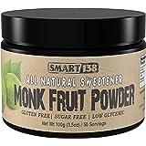 Smart138 Monk Fruit Powder   Sugar Free All Natural Sweetener, Low Glycemic, Gluten Free