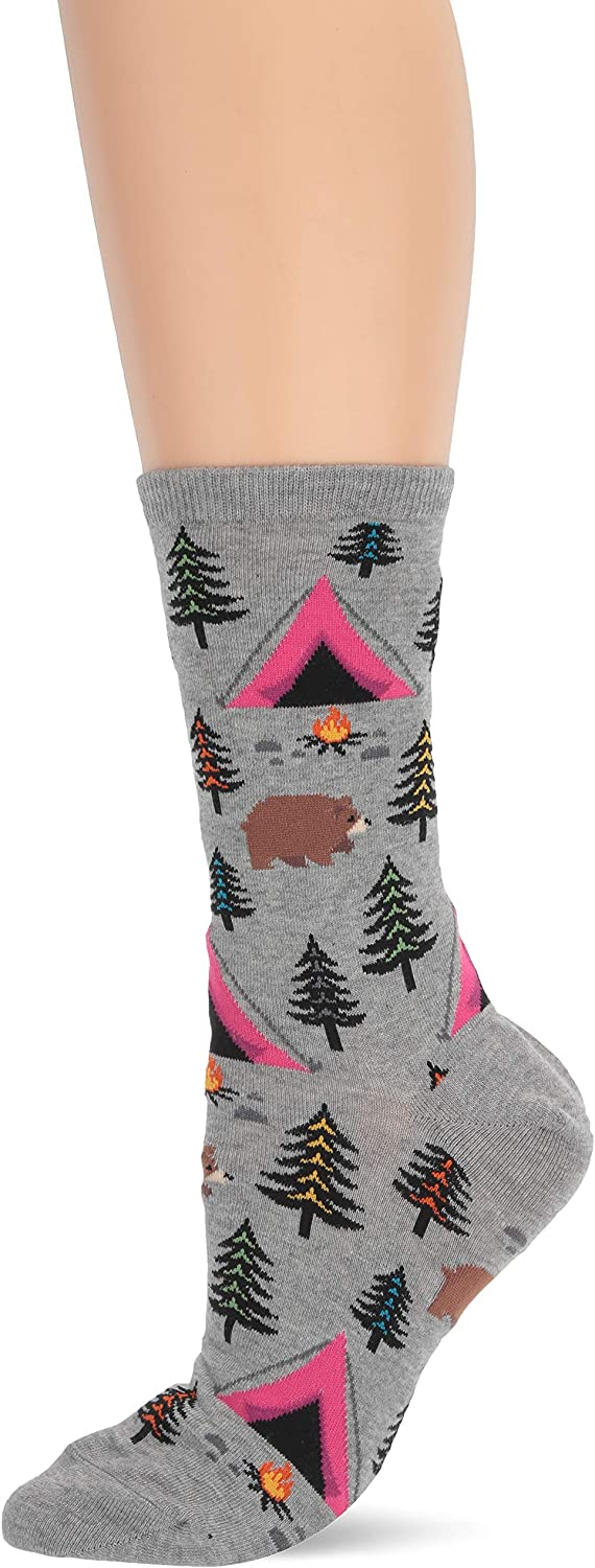 Hot Sox Women's The Outdoors Novelty Crew