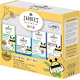 Zarbee's Naturals Baby Bee Prepared Kit, Including Cough Syrup + Mucus, Chest Rub, Gripe Water, Multivitamin with Iron,