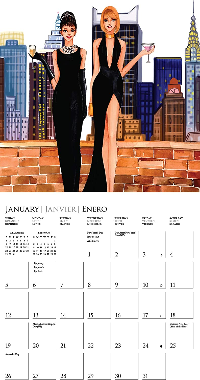 The Fashionista Diaries 2020 Calendar