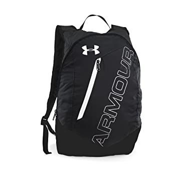 a77b1c9a11a5 Under Armour Black-Silver Casual Backpack  Amazon.in  Bags