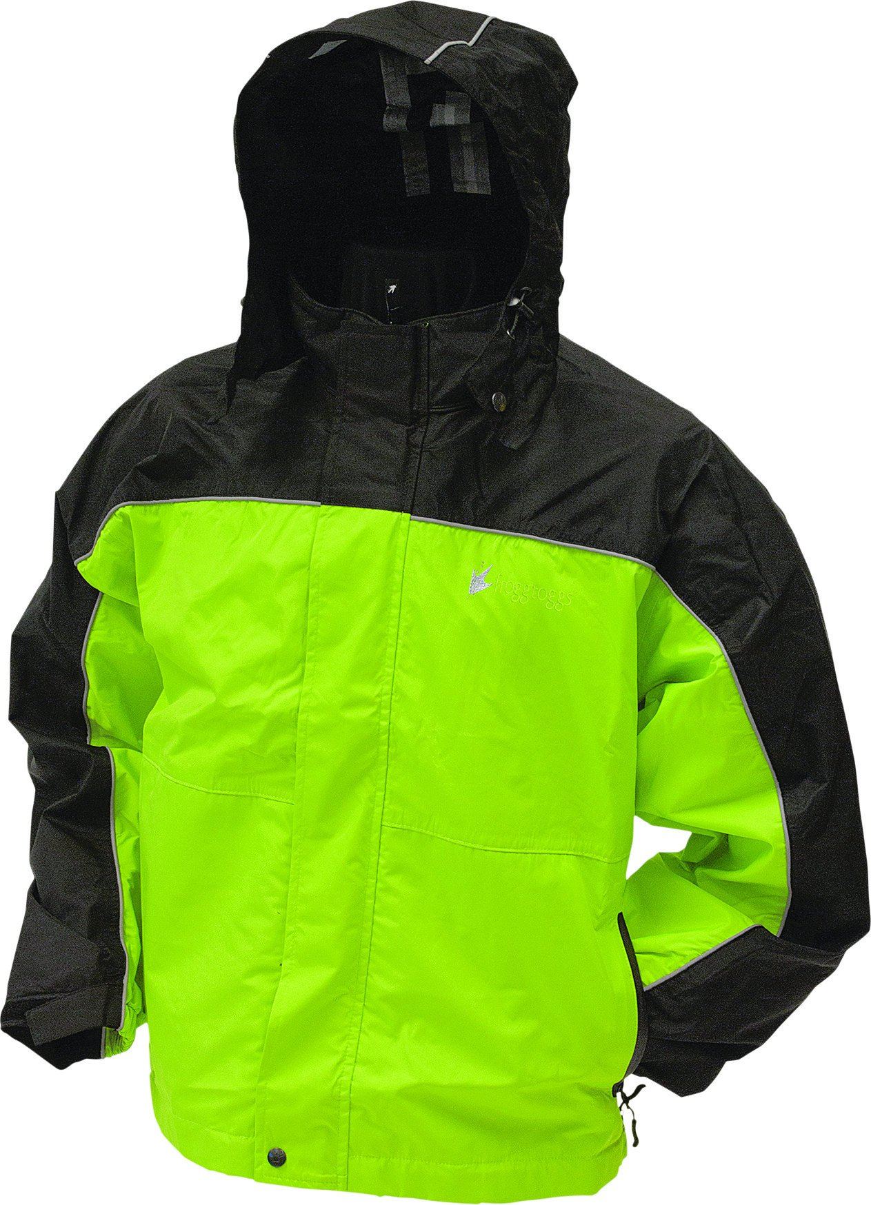 Frogg Toggs Yellow Toadz Highway Jacket, XL