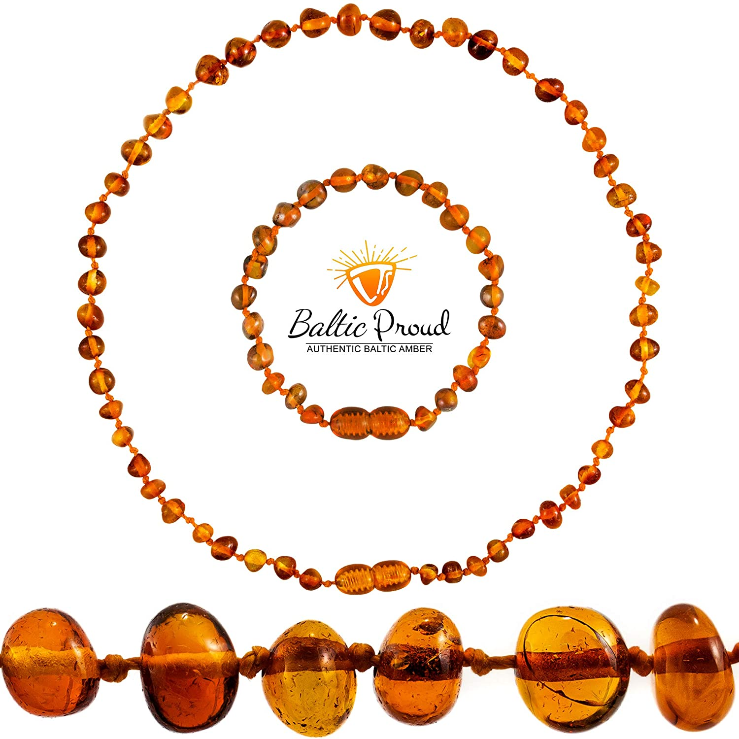 Amber necklace amber donut beads amber doughnut necklace amber leather jewelry amber and leather amber natural Baltic amber jewelry