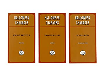 Amazon.com: Halloween Charades - the perfect Halloween Party Game ...