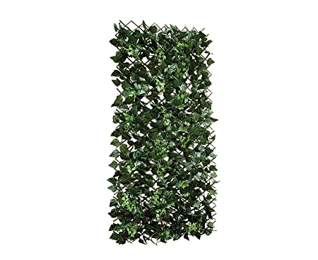Bloom Leaf Fence Trellis Mixed Leaves Garden Outdoor Wall Covering  Artificial