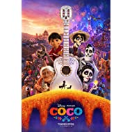 COCO MOVIE POSTER 2 Sided ORIGINAL FINAL 27x40 BENJAMIN BRATT DISNEY