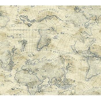 Amazon Com York Wallcoverings Ac6136 Nautical Living