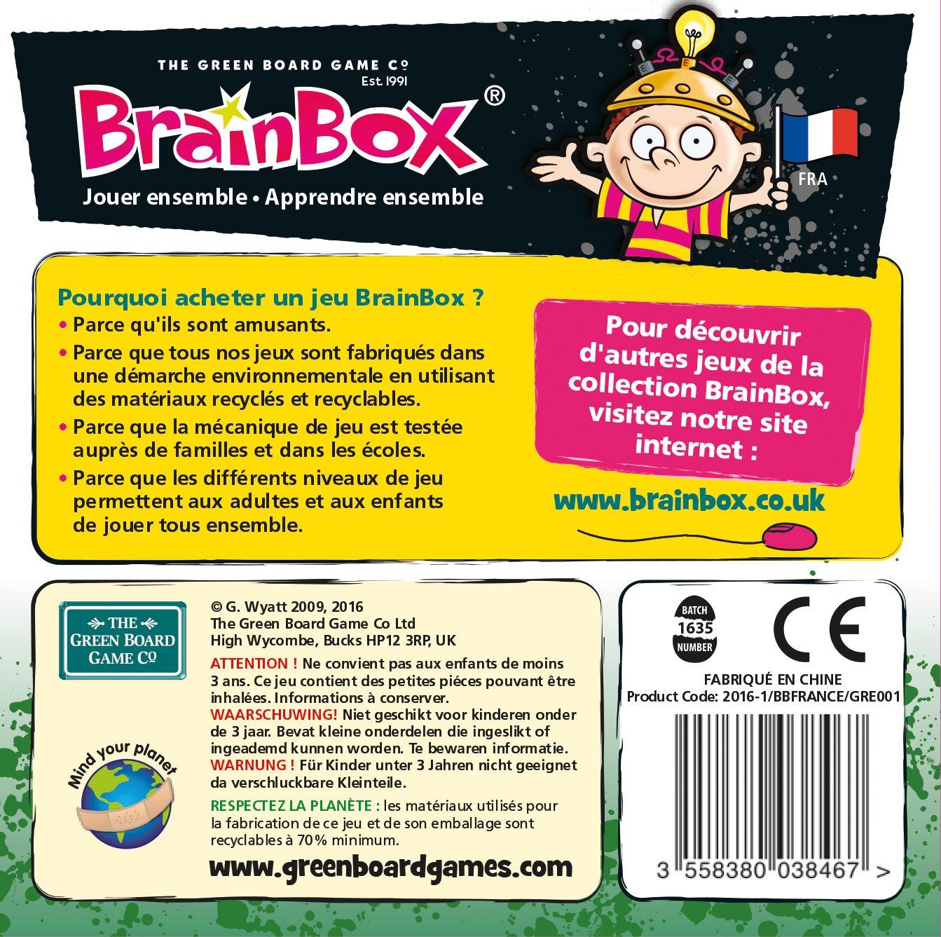 BRAINBOX imparare il Francese Voyage Autour DU MONDE
