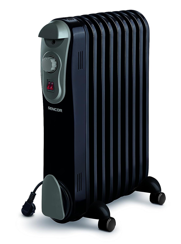 Sencor SOH 3107BK Electric Oil Filled Radiator schwarz