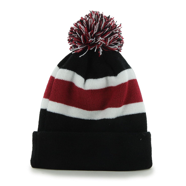 Amazon.com   NFL Arizona Cardinals  47 Brand Breakaway Cuff Knit Hat with  Pom d91aaab92b75