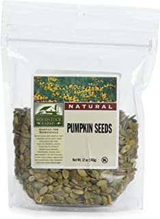 product image for Woodstock Farms Pumpkin Seeds, 12-Ounce Bags (Pack of 8)