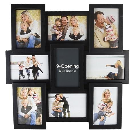 Amazoncom Melannco 51844034 9 Opening Puzzle Collage Picture