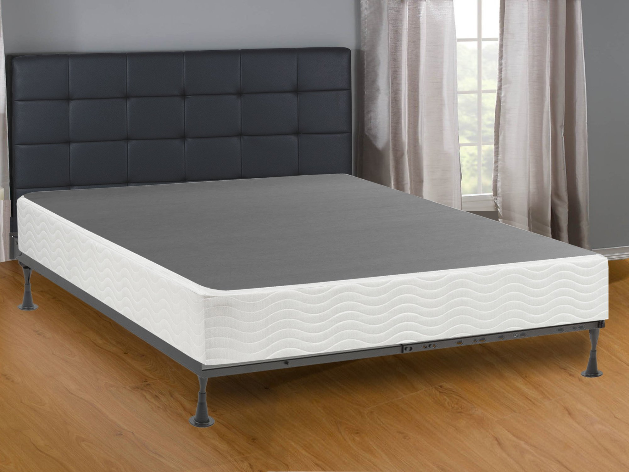Mattress Comfort Assembly Metal Box Spring/Foundation, Full Size by Mattress Comfort