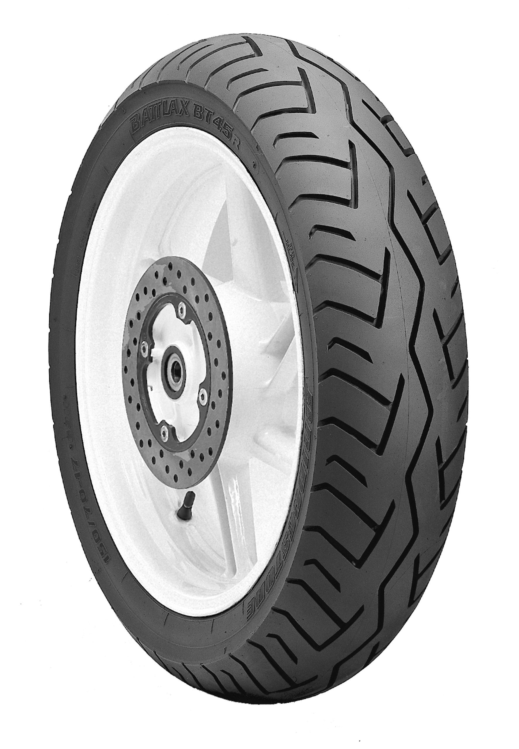 Bridgestone BATTLAX BT-45V Sport/Touring Rear Motorcycle Tire 120/90-18