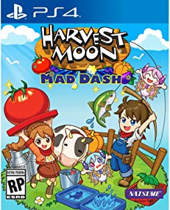 Harvest Moon: Mad Dash - PlayStation 4 Standard Edition