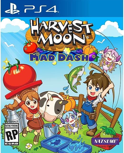 Harvest Moon: Mad Dash for PlayStation 4 [USA]: Amazon.es: Crescent Marketing Inc: Cine y Series TV