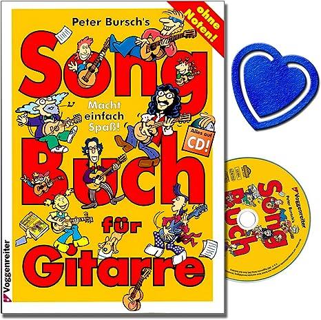 Peter bursch s Song libro para guitarra 1 – Sobre la Colección de banda de rock de