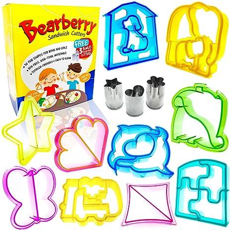 Amazon.com: Bearberry Sandwich Cutters, Pan crust & Set de ...
