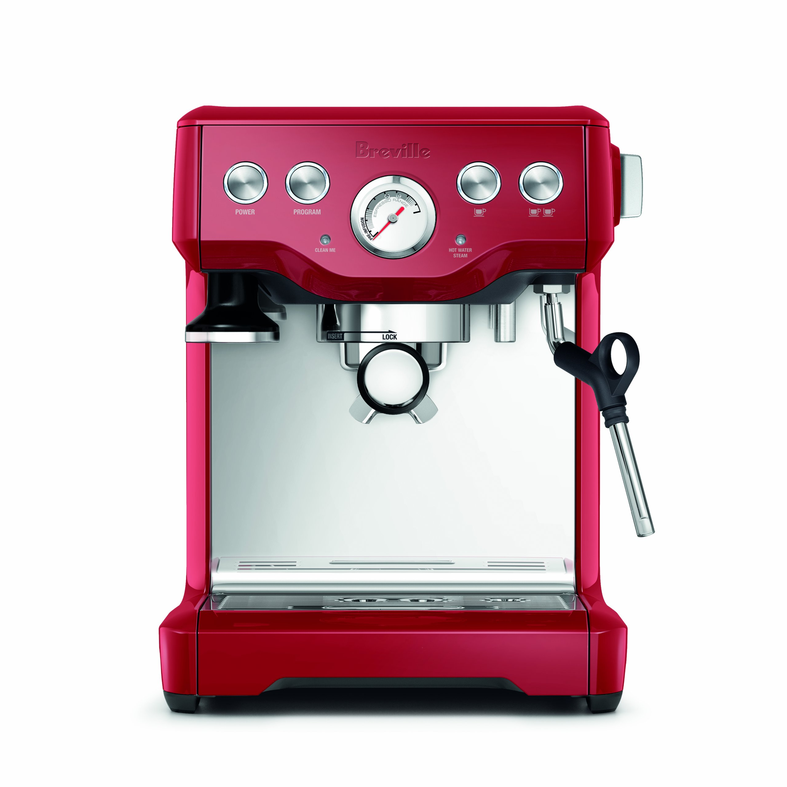 Breville BES840CBXL The Infuser Espresso Machine, Cranberry Red by Breville