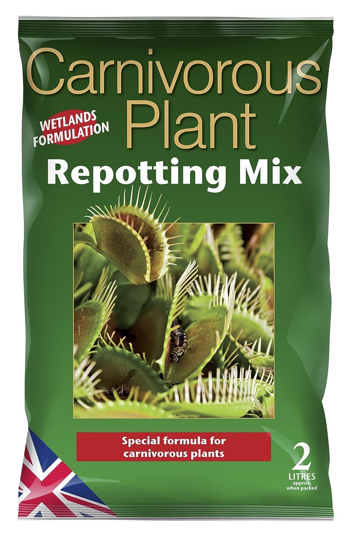Carnivorous Focus Repotting Mix Mischung für fleischfressende Pflanzen, zum Umtopfen, 2 l Growth Technology Ltd MDCARF2