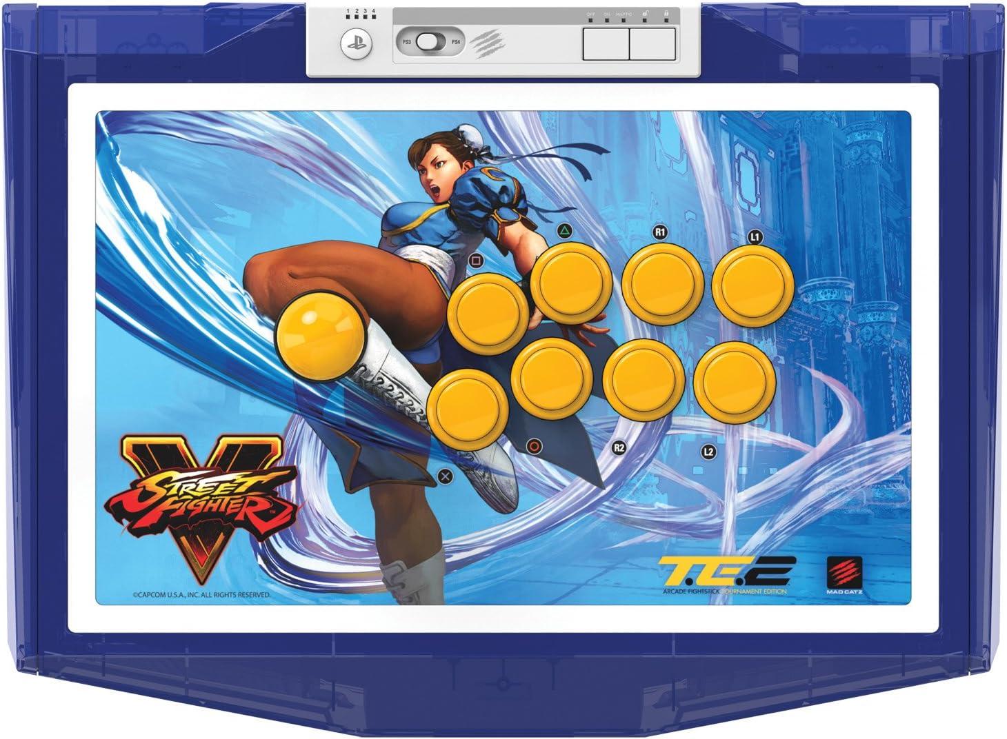 Amazon.com: Mad Catz Street Fighter V Chun-Li Arcade Fight Stick ...