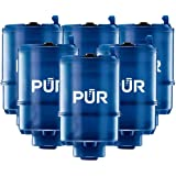 PUR RF9999 MineralClear Faucet Water Filter Replacement for Filtration Systems, 6 Pack, 6 Count