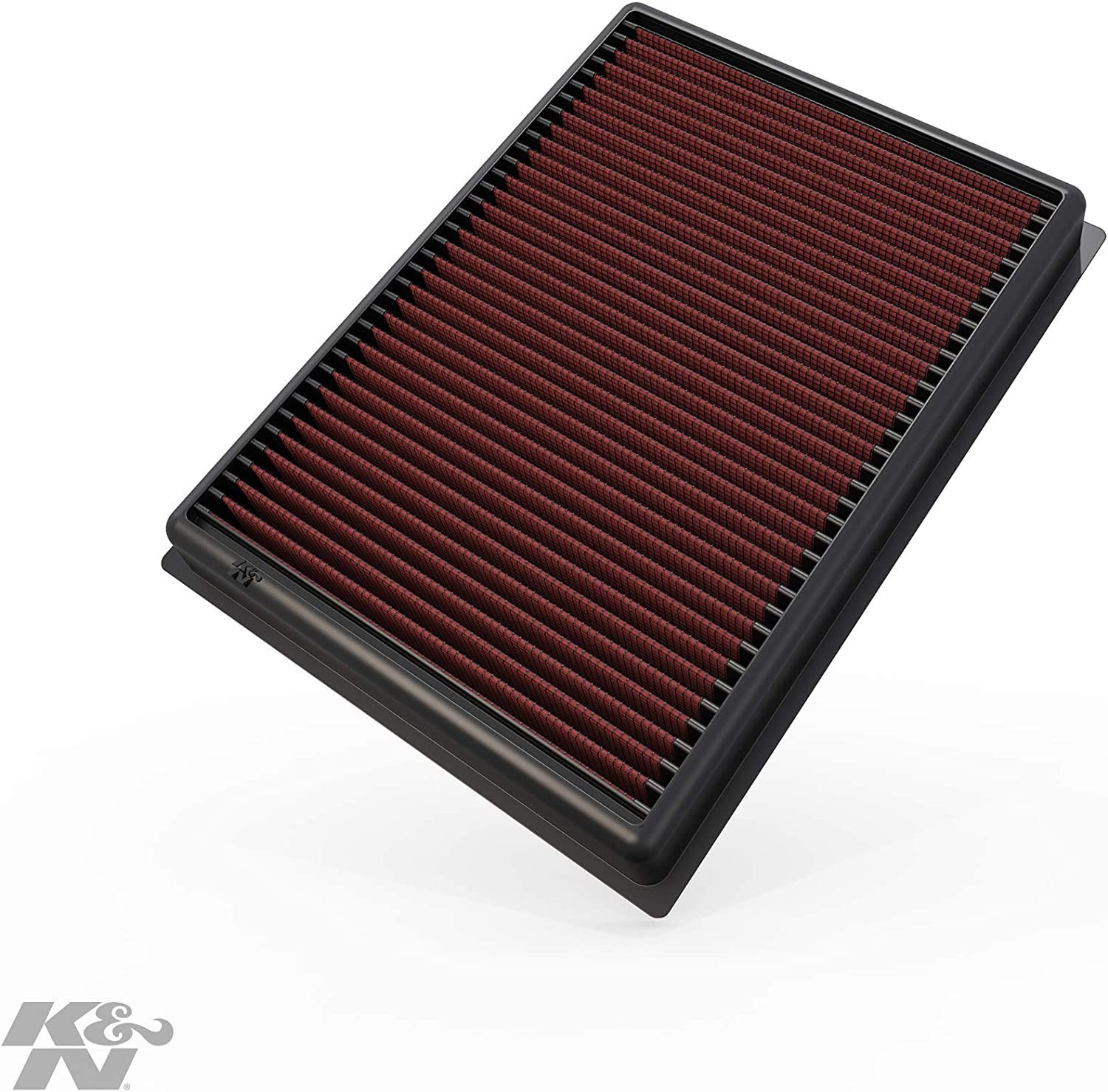K&N Engine Air Filter: High Performance, Premium, Washable, Replacement Filter: 2010-2019 Toyota/Lexus SUV V6/V8 (4runner, GX460, Land Cruiser, FJ Cruiser, Prado), 33-2438