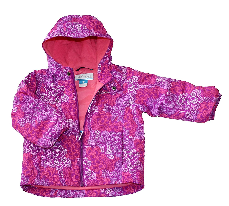 69e1779dbd495 Amazon.com: Columbia Exposed Ice Girls Toddler Snow Waterproof Bibs Jacket  Set: Clothing