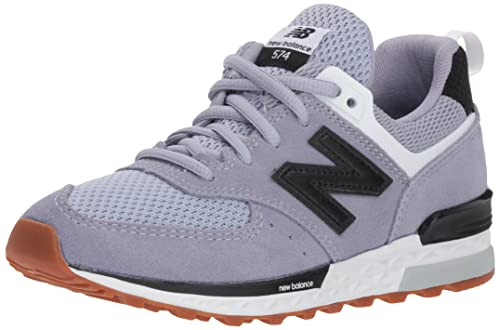 low priced 29a8d 844e1 New Balance 574 Sport Trainers Black: Amazon.co.uk: Shoes & Bags