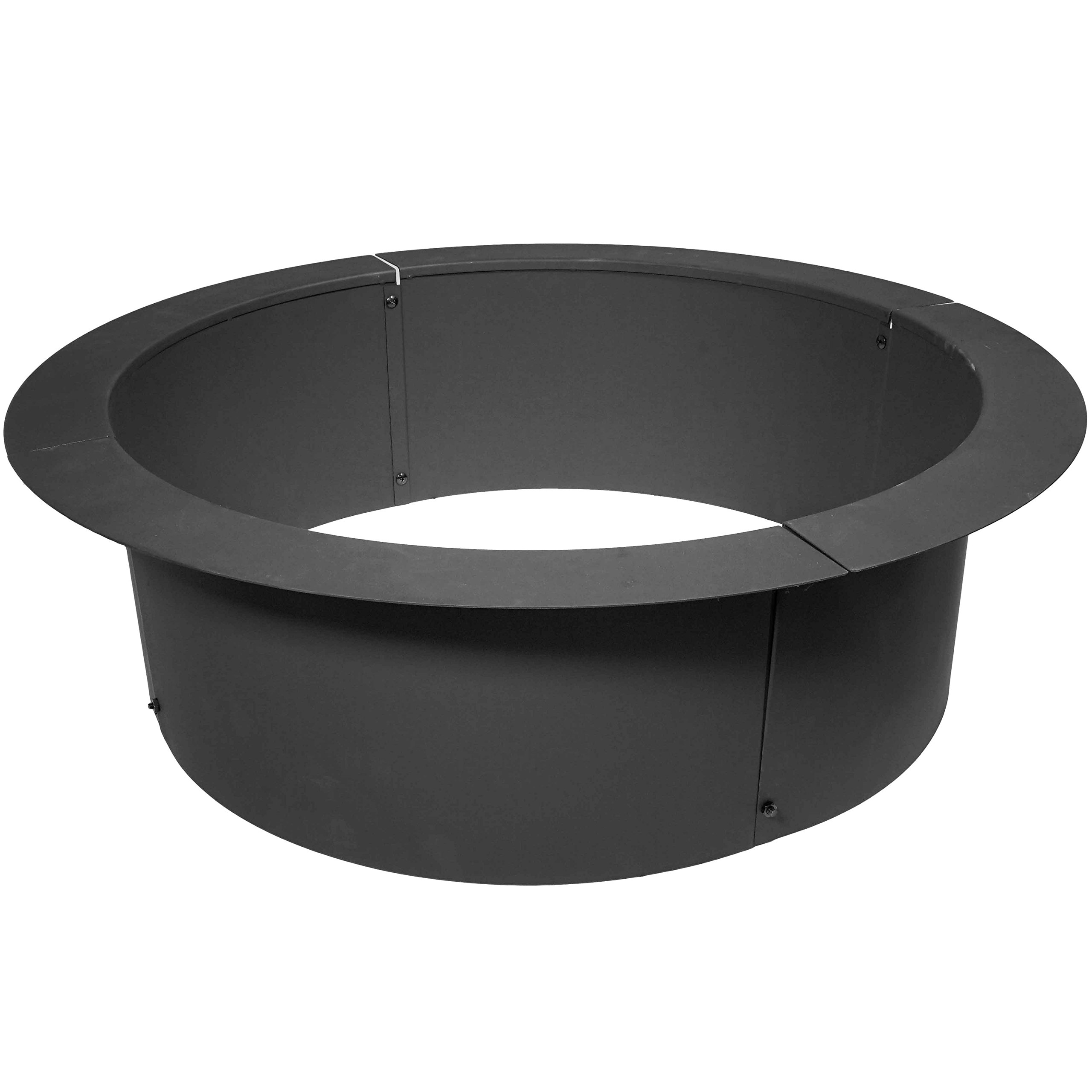 Titan 33'' Diameter Steel Fire Pit Liner Ring Heavy Duty DIY In-Ground Outdoor Build Your Own by Titan Outdoors