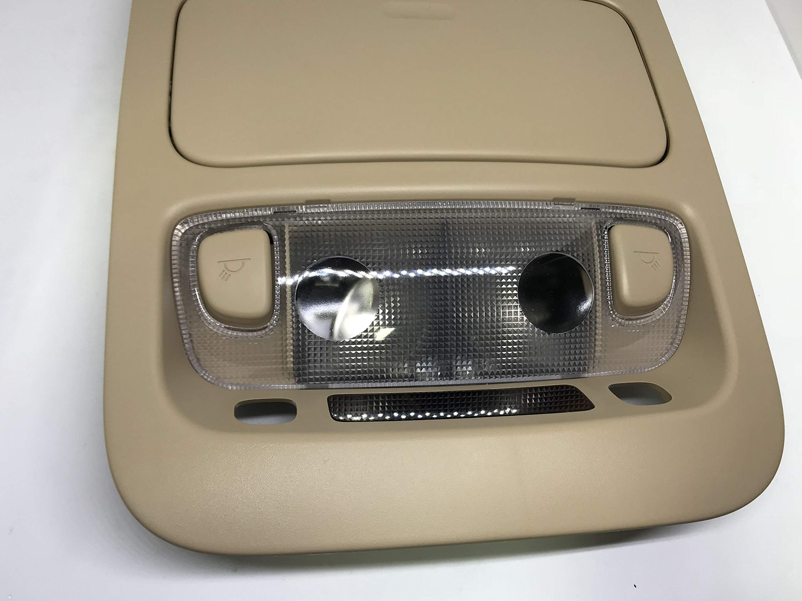 928214D100TW Overhead Console Map Lamp Beige for 2006 2014 Kia Sedona Carnival by Automotiveapple (Image #4)