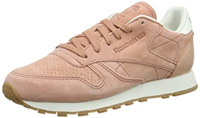 Reebok Classic Leather Bread & Butter, Baskets Basses Femme, Rose Pink (Rustic