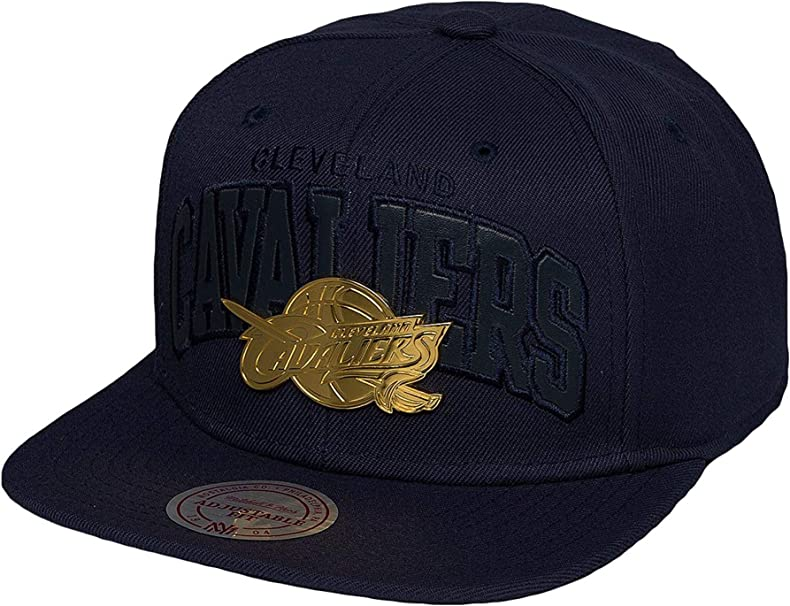 Mitchell & Ness Mujeres Gorras/Gorra Snapback Lux Arch Cleveland ...