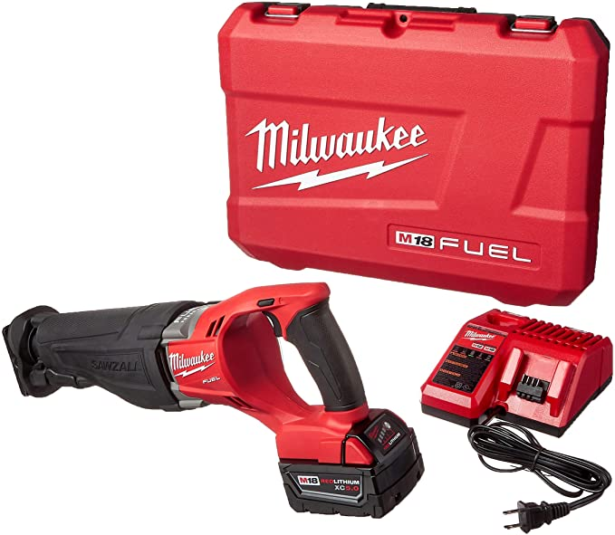 best sawzall: Try the feature-rich Milwaukee 2720-21 SAWZALL for optimum output