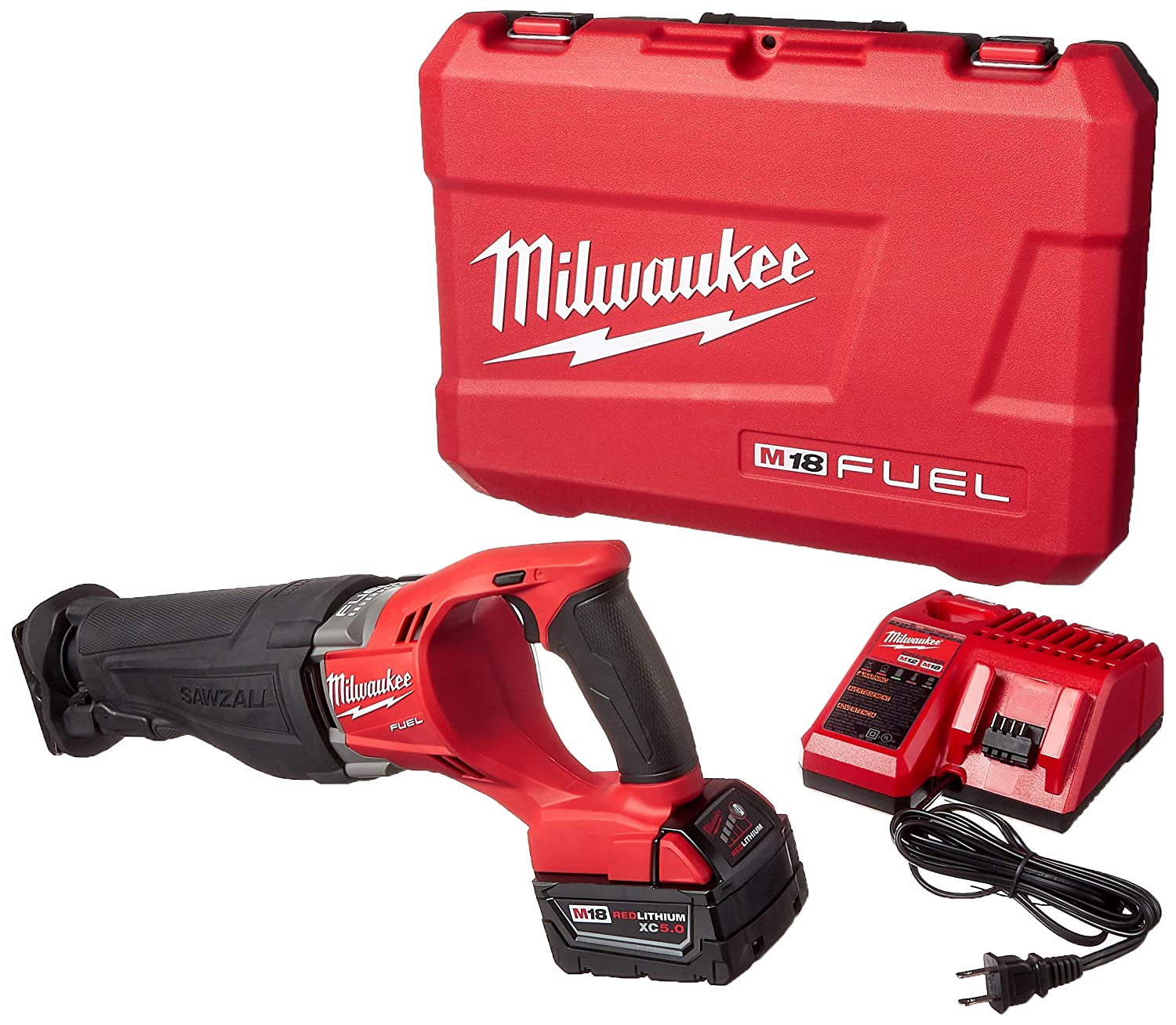 Milwaukee 2720-21 M18 Fuel Sawzall Reciprocating Saw Kit