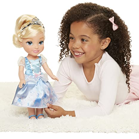 acce74d18dc5 Amazon.com: Disney Princess Explore Your World Cinderella Doll Large Toddler:  Toys & Games