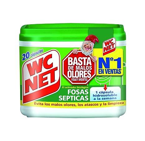 Wc Net Fosa Septicas - 20 Capsulas