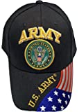 Army Baseball Cap US Veteran V American Flag USA Hat United States