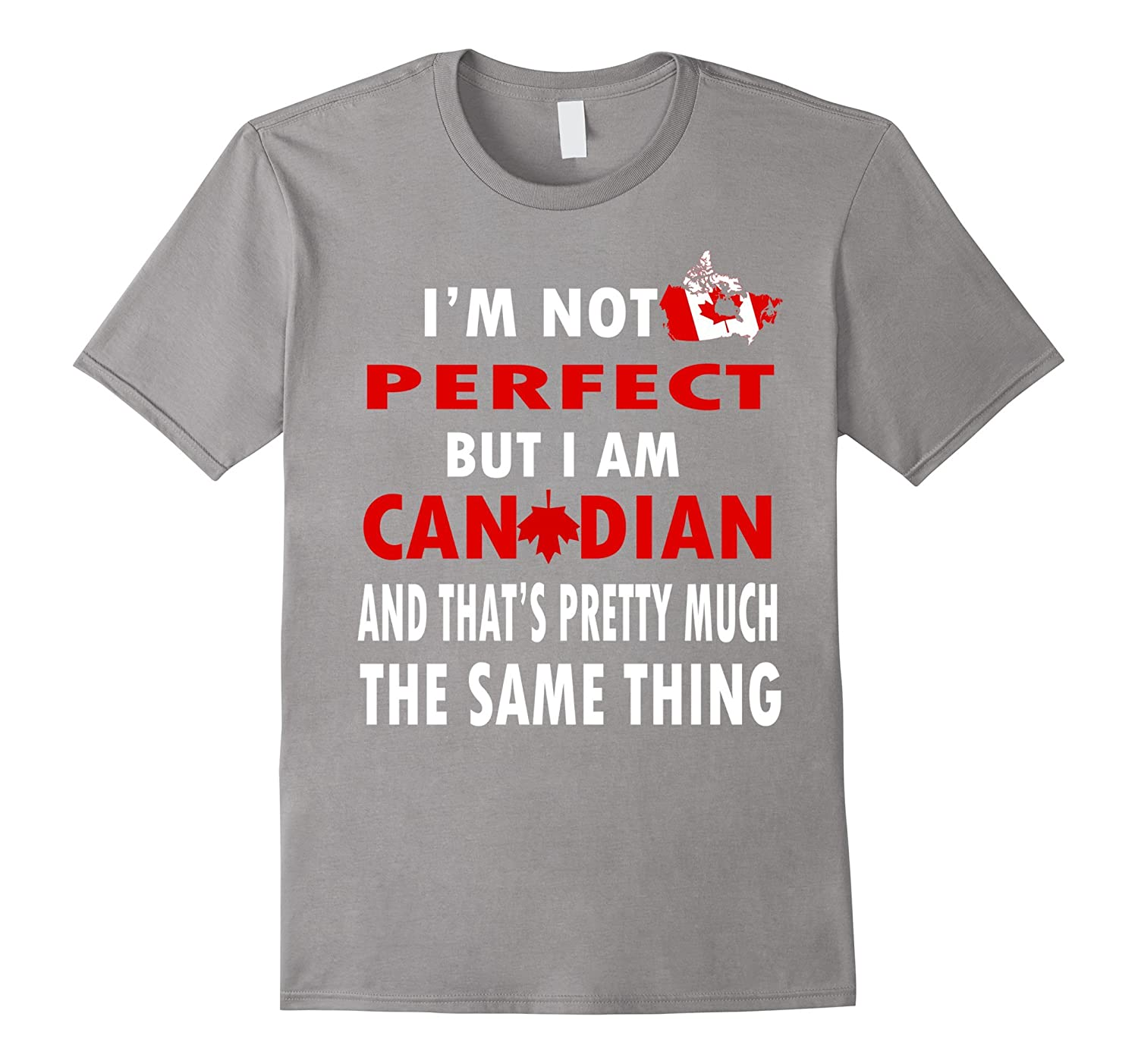 Canadian Pride Funny Canadian American Flag Pun Shirt-TH