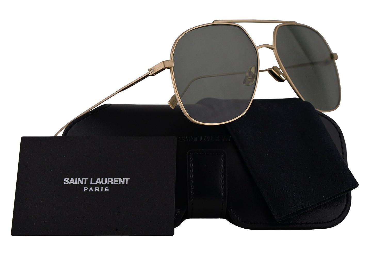 Saint Laurent メンズ SL 192 T US サイズ: L カラー: ゴールド B07CGSNHCK